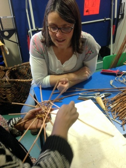 clare supporting weaving