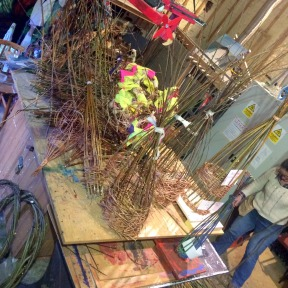 lots of willow work