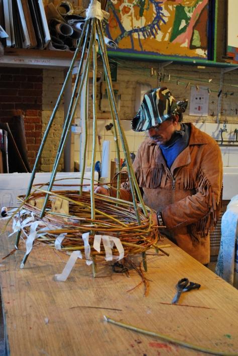 Michael weaving